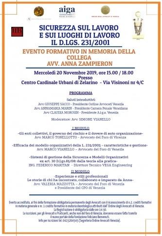 SICUREZZA SUL LAVORO E SUI LUOGHI DI LAVORO IL D. LGS. 231/2001